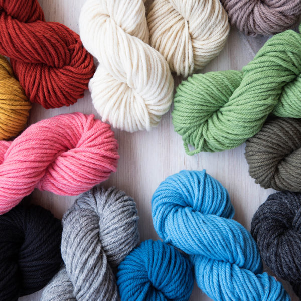 Wool Yarn Single Skeins   The Crafter's Box