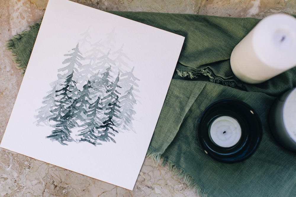 Inked Forest Illustrations   Peggy Dean   Crafter's Box