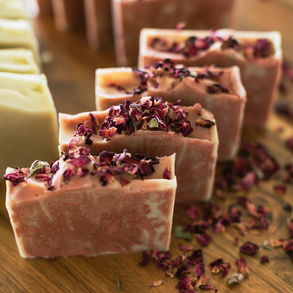 Premium Traditional Cold Press Soap   Additional Swirl Soap   Ashley Marie   The Crafter's Box