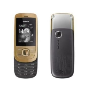 Nokia 2220 Mobile Phone Gold