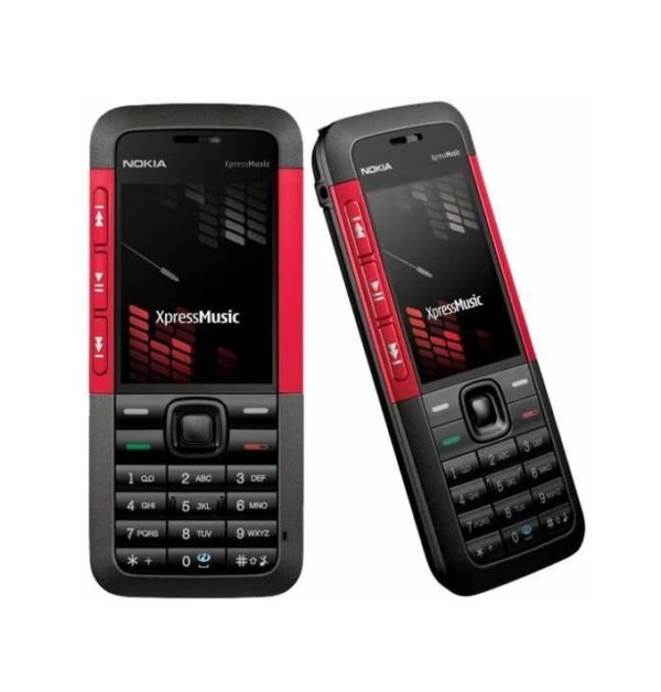 Nokia 5310 Mobile Phone Red