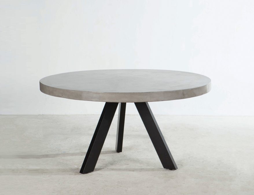 Axel Concrete Table Round 1 50 Dining Tables Outdoor