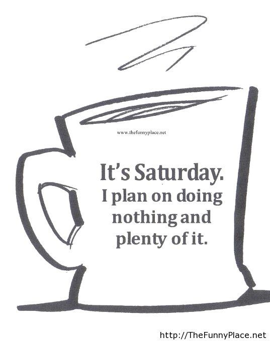 Funny Saturday Quote Thefunnyplace