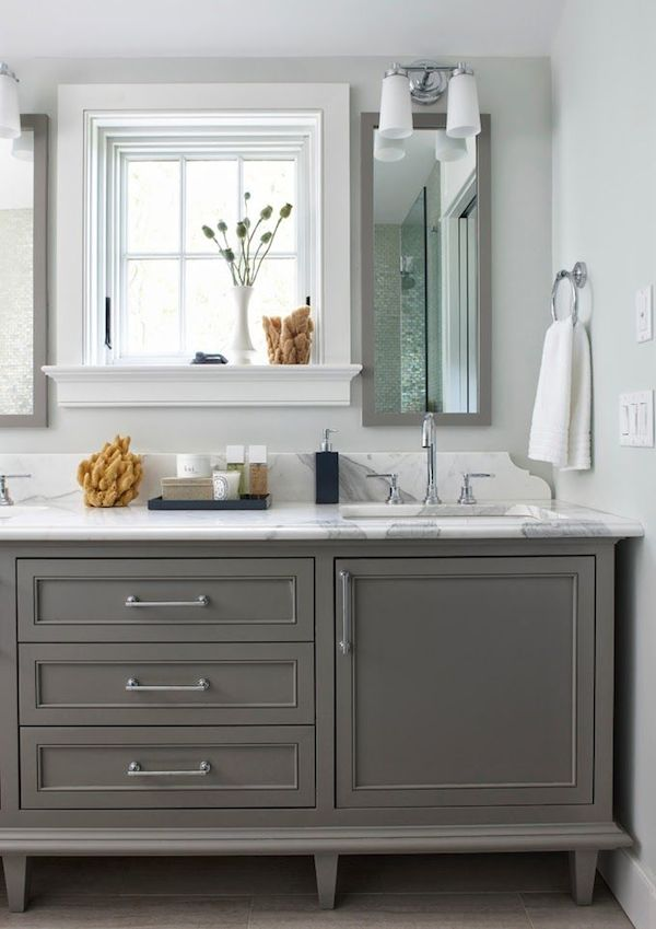 Gray Paint Colors For Bathroom Vanity