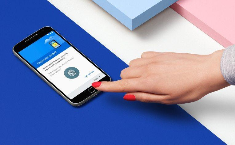 Moto G4 Plus fingerprint sensor