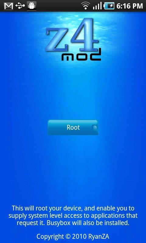 Android Phone Root without PC