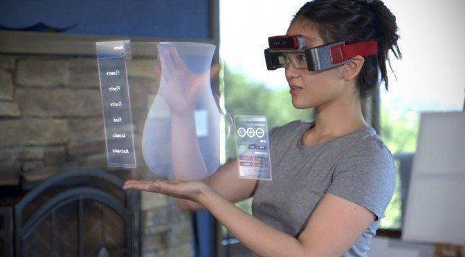 META-SpaceGlasses-Augmented-Reality-Glasses-Weared-by-a-women(Facebook)