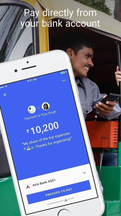Google Tez an UPI based payment solution for Android and iOS