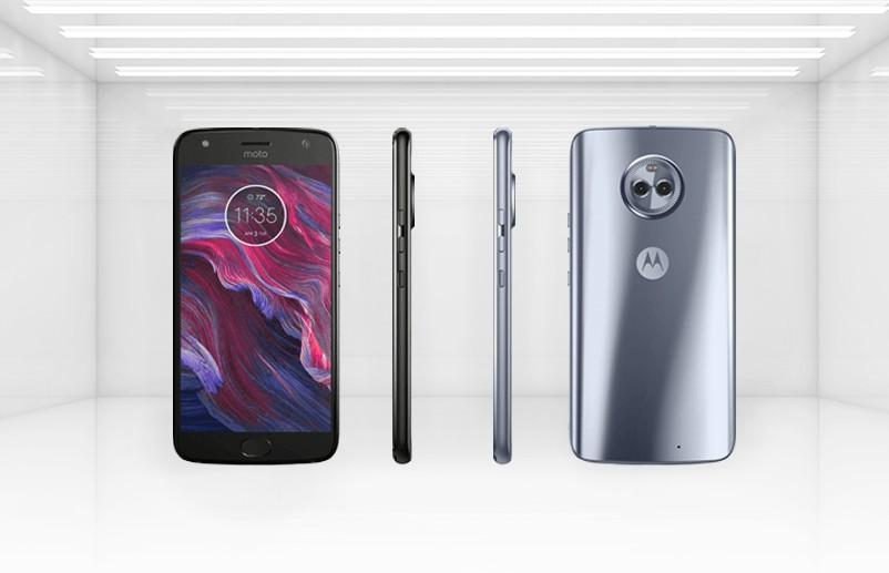 Moto X4 from all angles