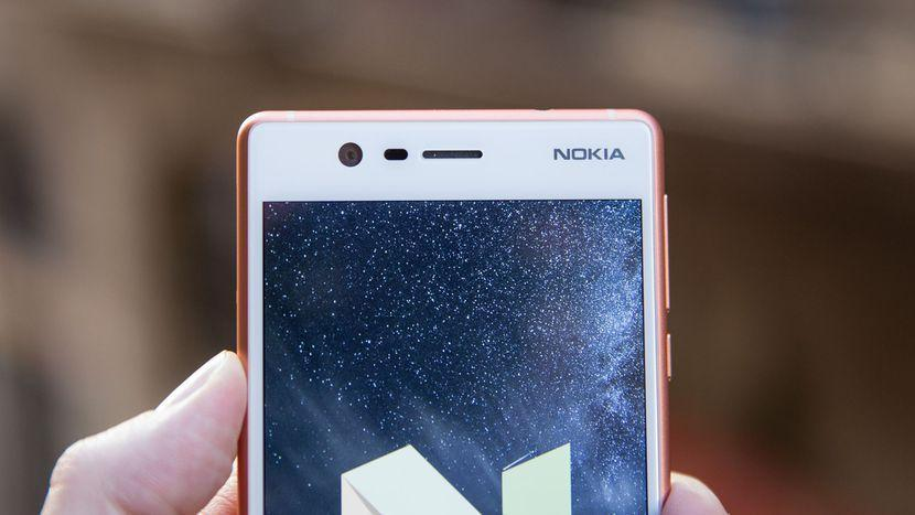 Android Nougat running on Nokia 3