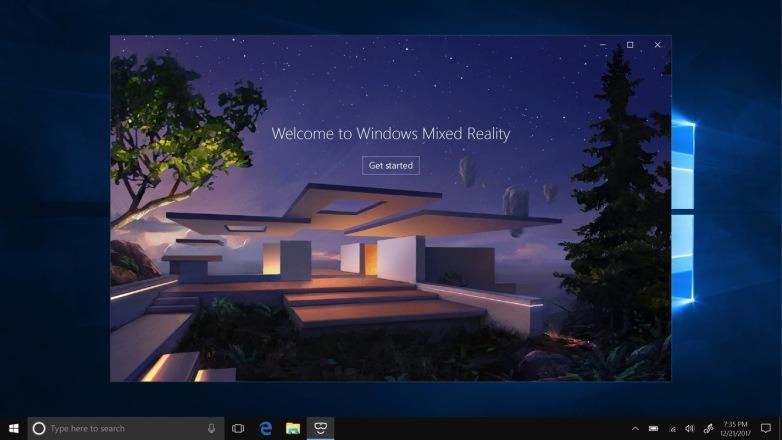 Windows 10 update mixed reality