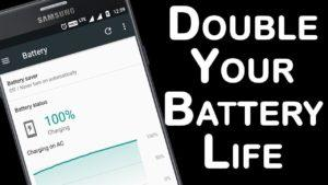 How to double Android battery life