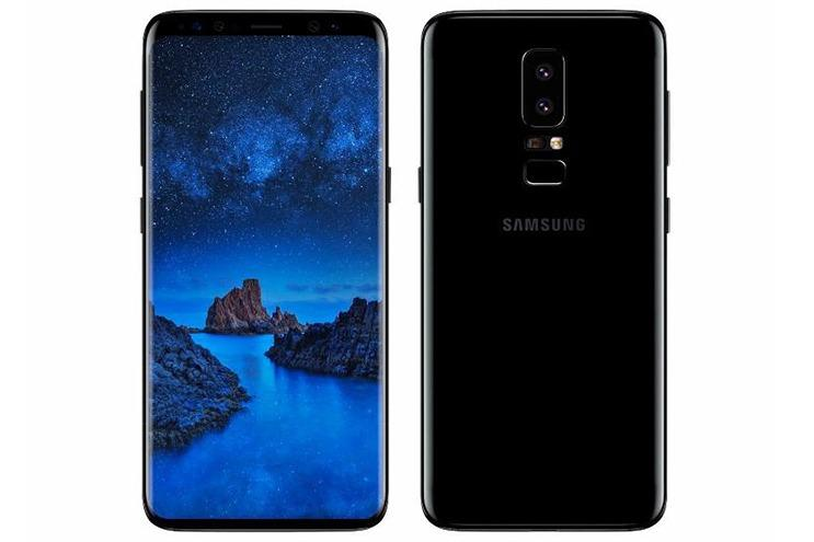 Galaxy S9 Plus renders