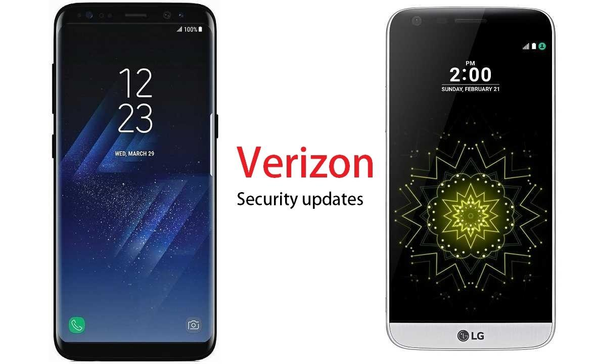 Samsung LG Verizon security updates