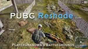 Reshade for PUBG