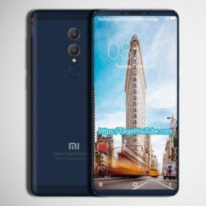 Redmi Note 5 concept