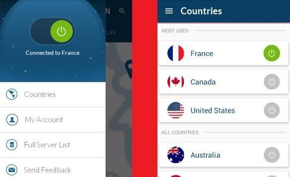 Nord VPN Android