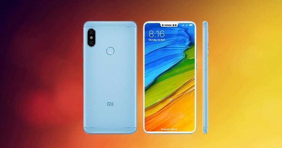 Redmi Note 6 concept