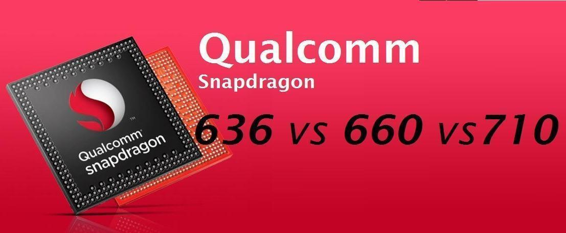 Snapdragon 636 vs 710 vs 660
