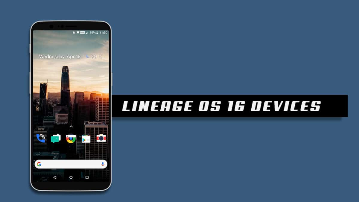 LineageOS 16