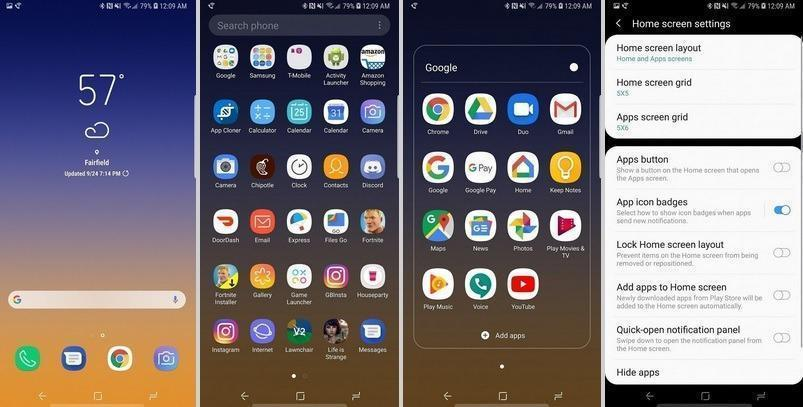 Samsung Experience Launcher 10 Android Pie Now Available For Download Apk