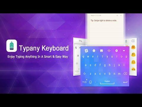 Typany Keyboard for Android