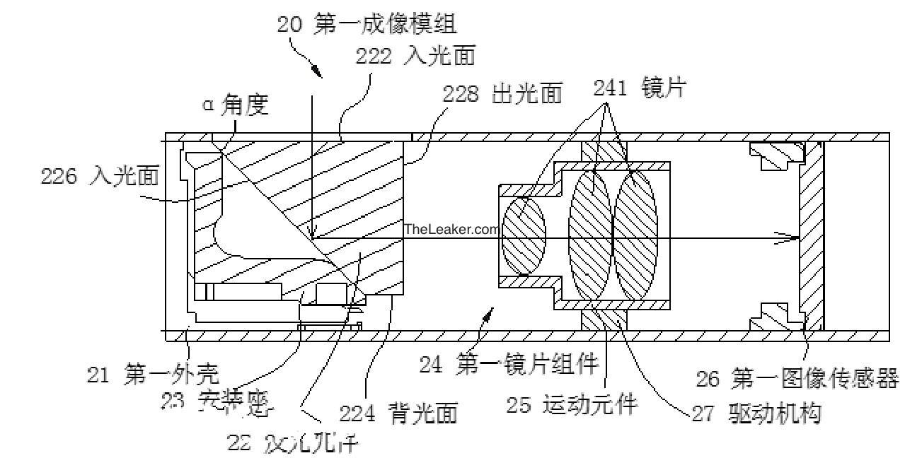 OPPO-10X lossless ZOOM patent image