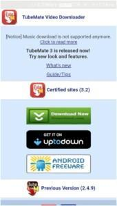 Tubemate Android APK