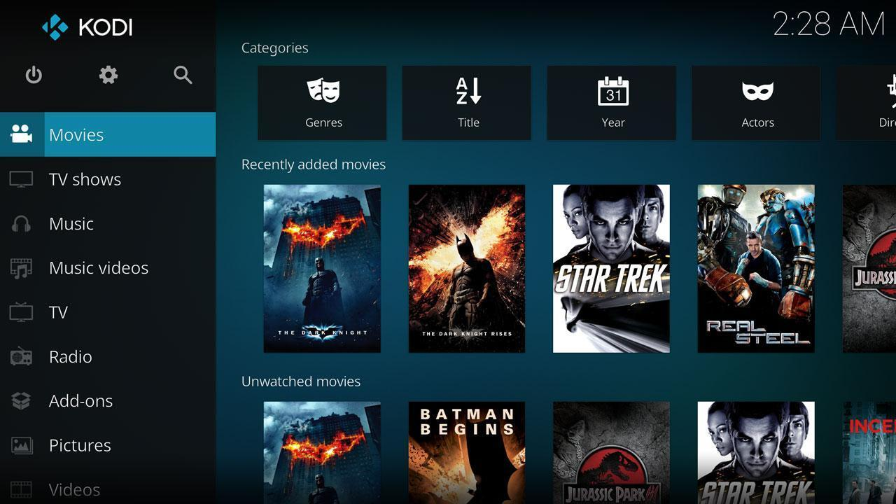 Kodi-Local Movies