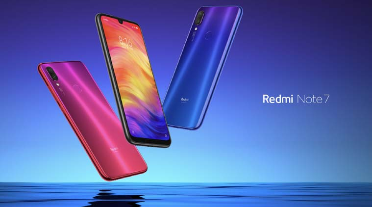 redmi note7 in all color options