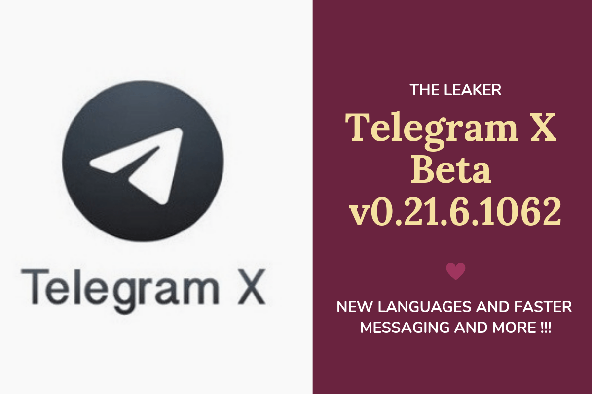 Telegram X Dark Mode update