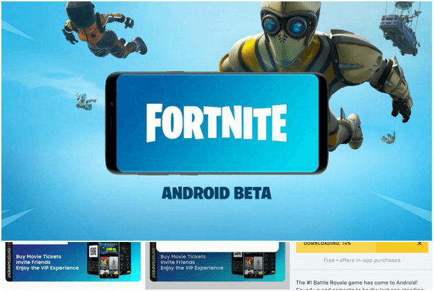Fortnite Mobile for Android will be installed for free