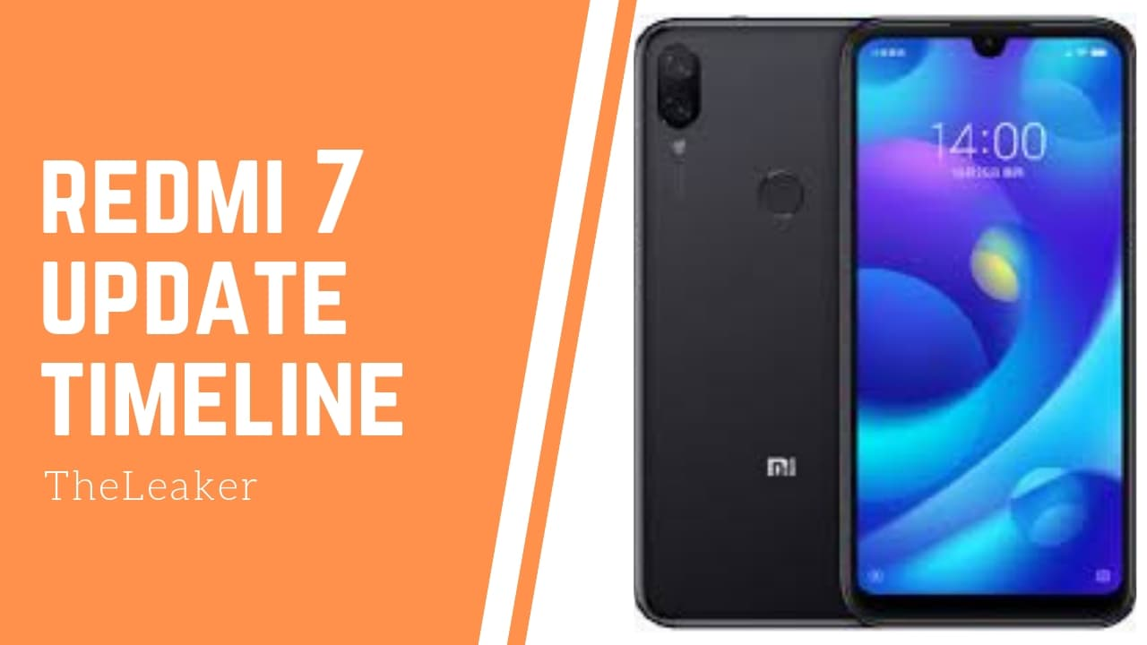 Redmi 7 update