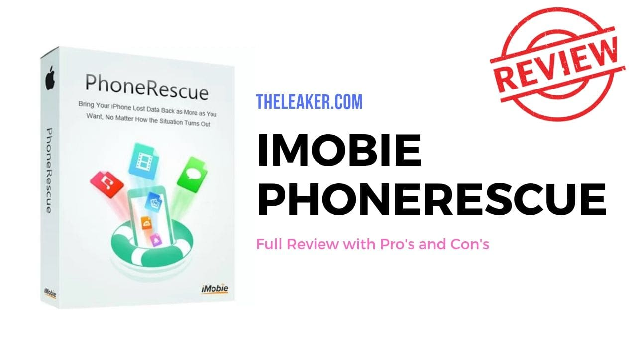 iMobie PhoneRescue Review