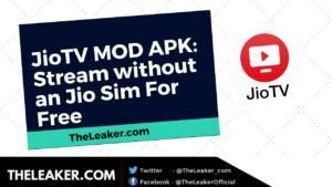 JioTV MOD APK for Android, FireTV, and SmartTV