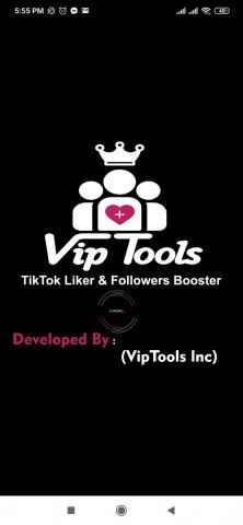 viptool-apk-home screen