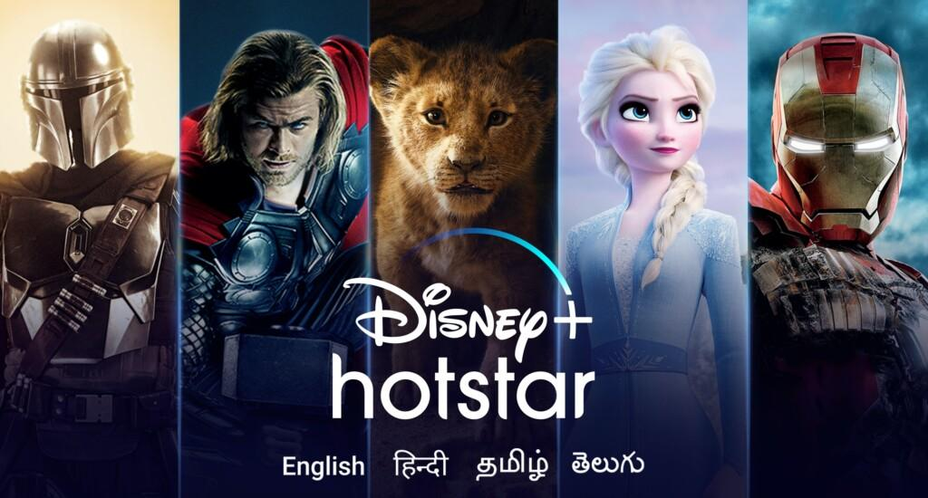 Disney+ Hotstar flagship Movies and Tv Shows