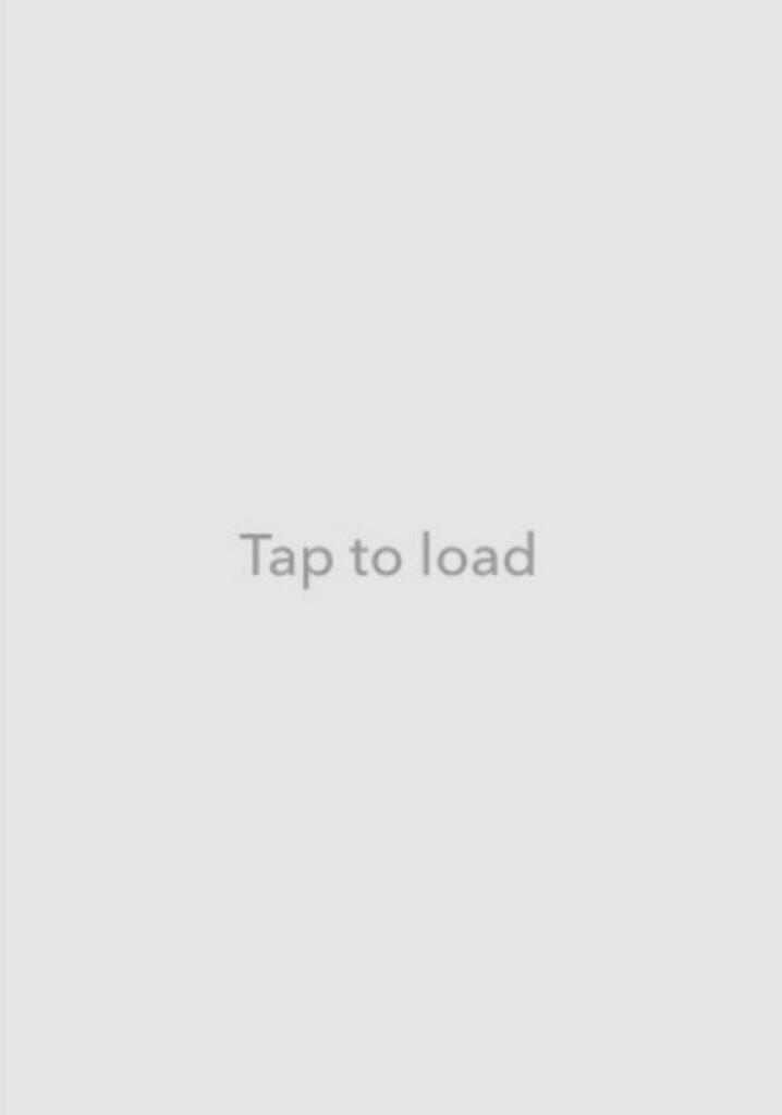 fixing the Snapchat tap to load glitch