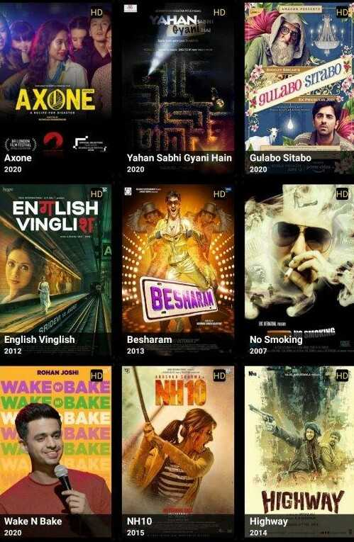 Pickashow apk movie list
