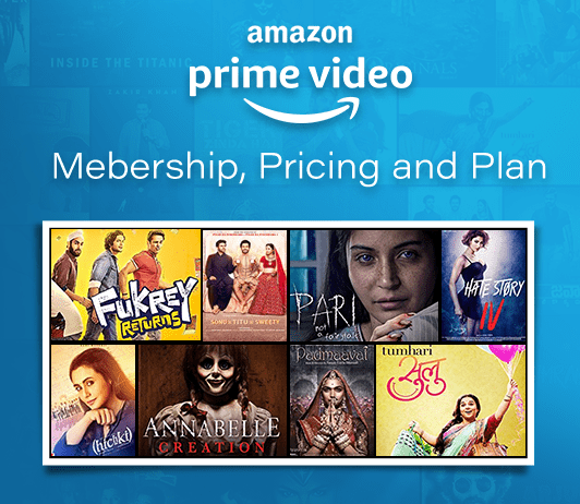 Amazon Prime Video Membership, Pricing and Plans
