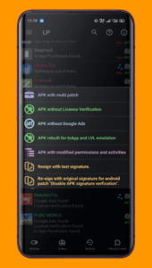Using Lucky Patcher latest version on Samsung Android phone