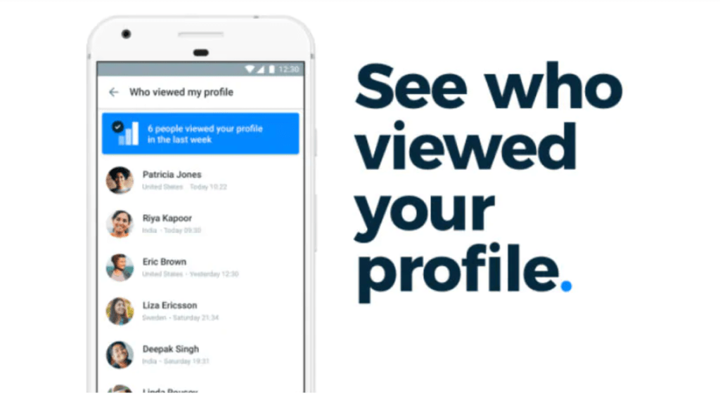 TrueCaller MOD APK feature Who viewed your profile
