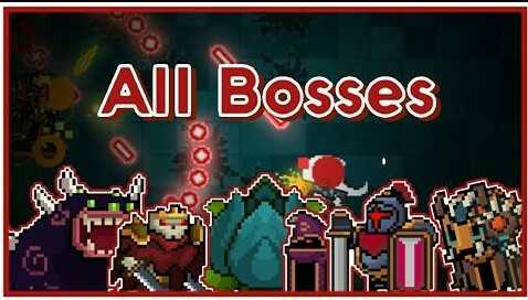 Soul Knight Premium features All Bosses