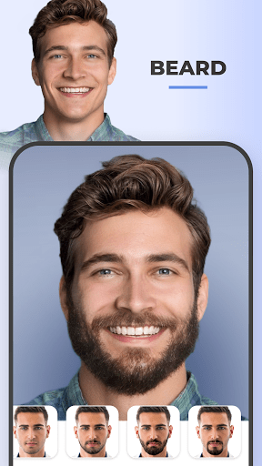 FaceApp Pro MOD APK Beard feature
