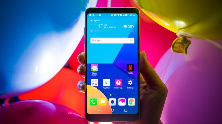 lg g6 android 8.0 o update