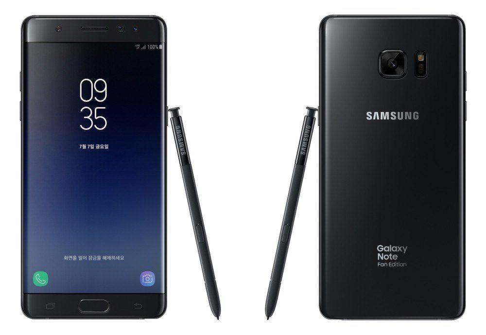 Note 7 FE