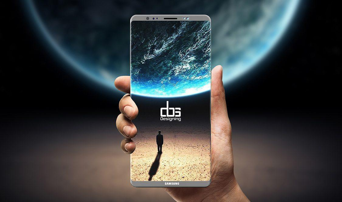 Galaxy Note 8 rumored image