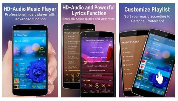 Best music player for Android - Leopard music player