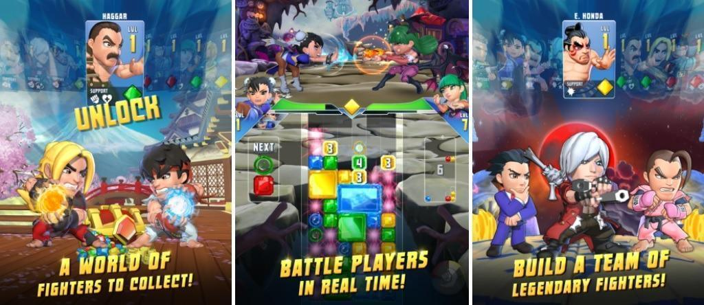 Puzzle fighter for Android