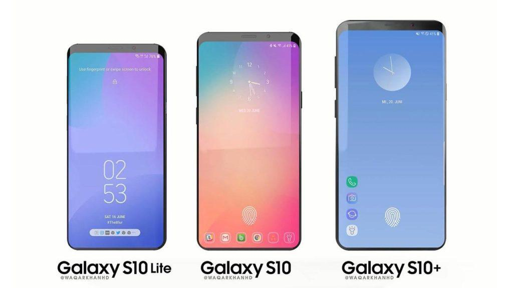 Galaxy S10, S10 Lite, and S10 Plus
